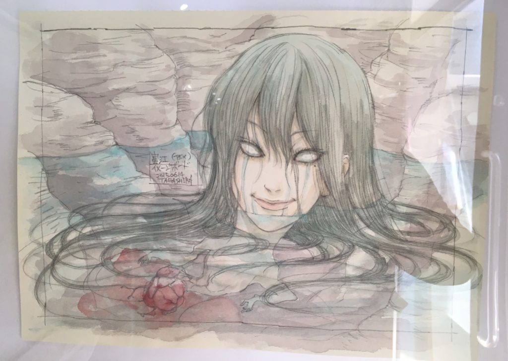 Photo of The Horrifyingly Beautiful Junji Itō : Collection Exhibit at ACG_Labo