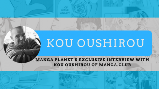 Photo of Manga Planet's Exclusive Interview with Kou Oushirou of MANGA.CLUB