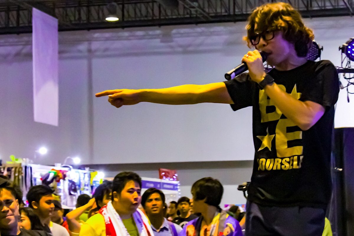 DJSunaP and DJ29Meat performing at Cosplay Mania