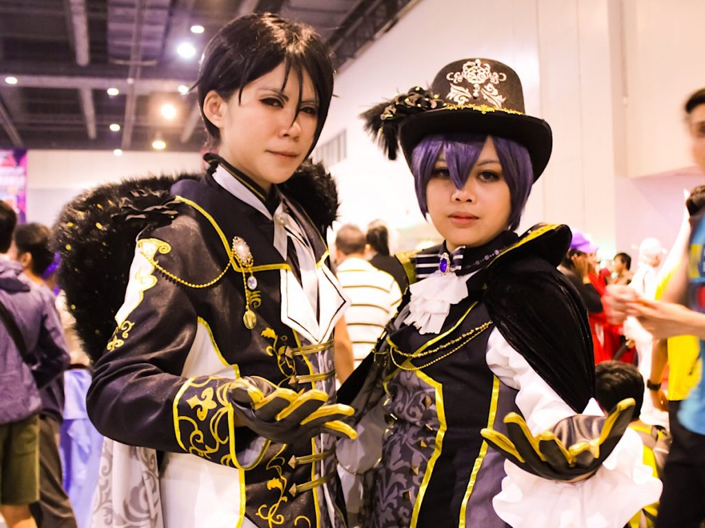 Cian Phaelis as Cian Phaelis as Ciel and Sebastian from Black Butler at Cosplay Mania