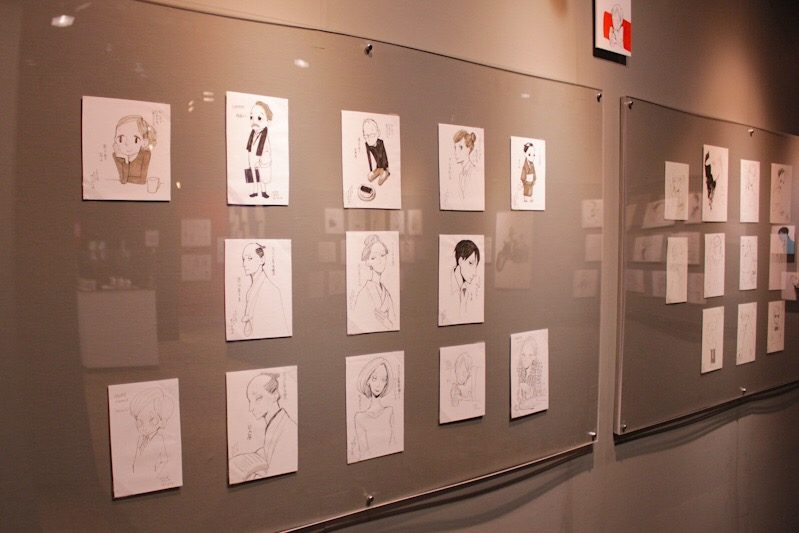 Natsume Ono 1 Day 1 Character Exhibit