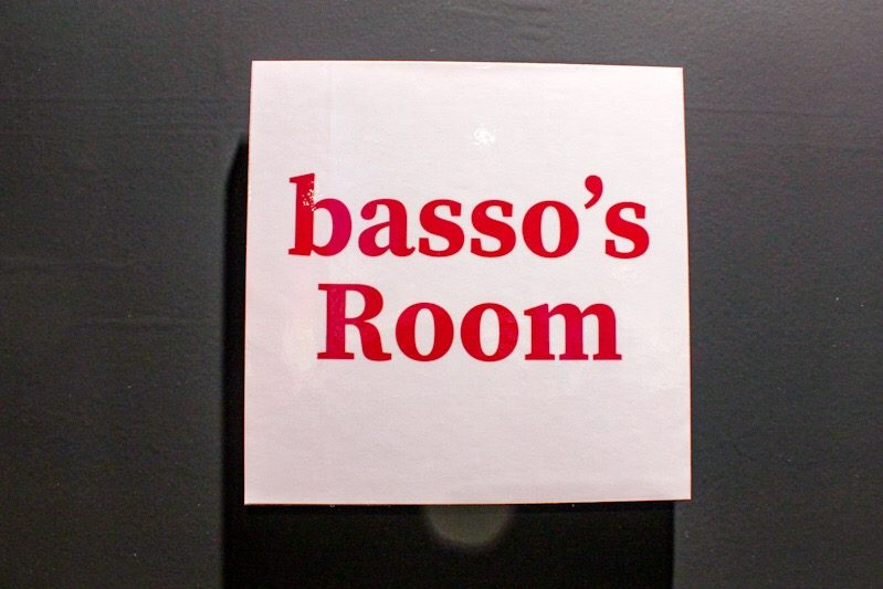 basso's room at the Natsume Ono 1 Day 1 Character Exhibit