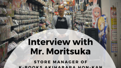 Photo of Interview with Mr. Moritsuka, Store Manager of K-BOOKS Akihabara Hon-kan