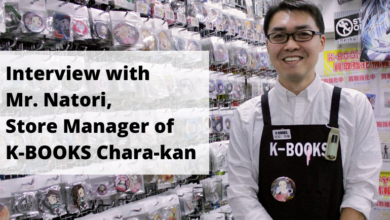 Photo of Interview with Mr. Natori, the Store Manager of K-BOOKS Chara-kan