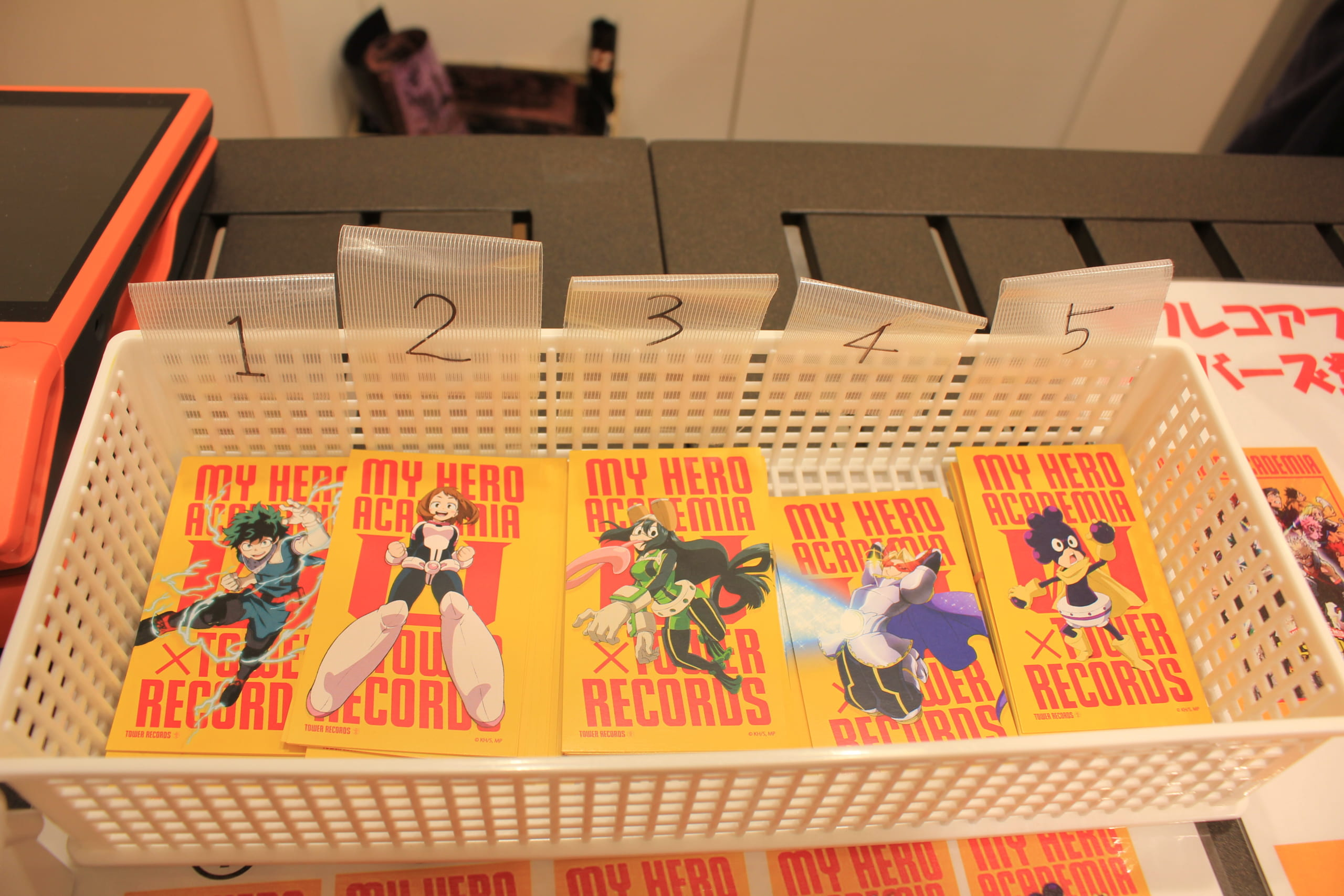My Hero Academia character cards