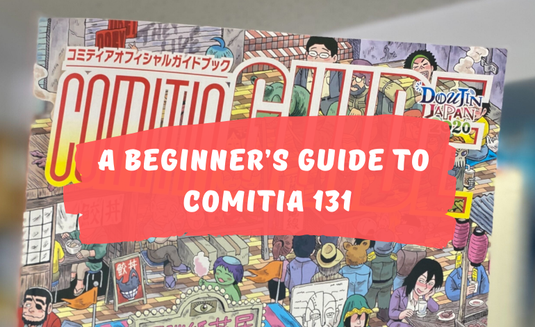 Photo of Handshaking Souls and Mountains of Treasure!  A Beginner's Guide to COMITIA 131
