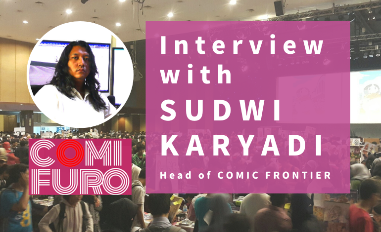 Photo of Interview with Sudwi Karyadi, Head of Comic Frontier