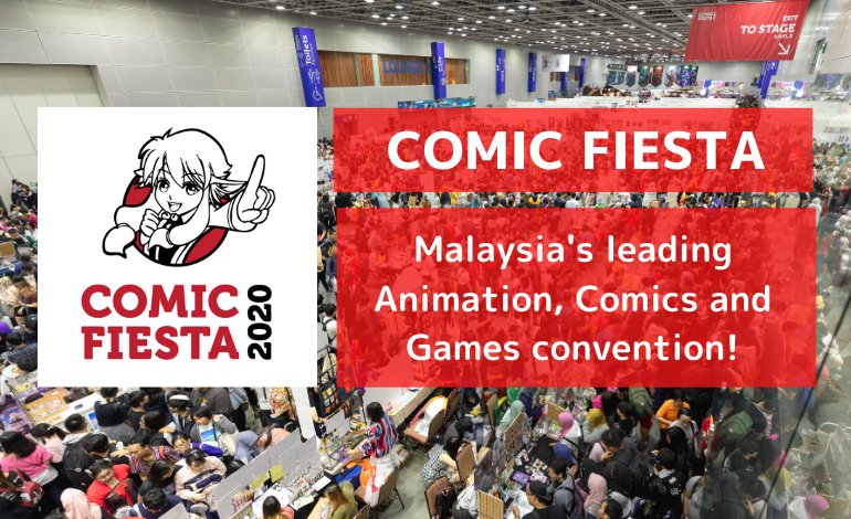 Photo of Comic Fiesta, Malaysia's leading Animation, Comics and Games convention!