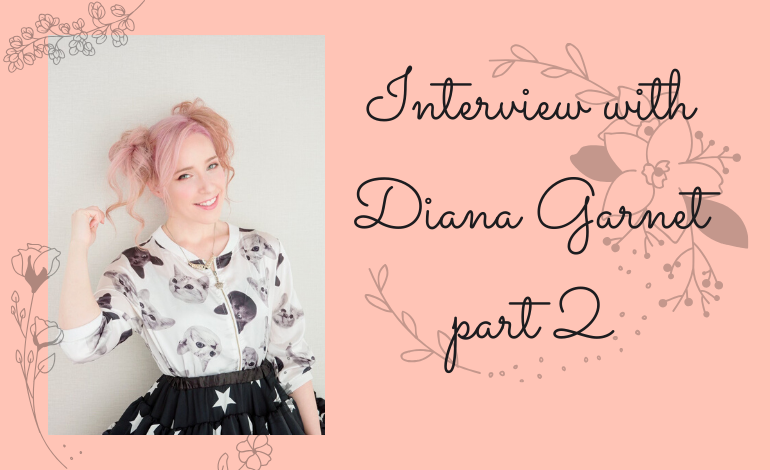 Photo of Exclusive Interview with anime song singer and voice actress Diana Garnet Part 2