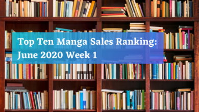 Photo of Top Ten Manga Sales Ranking: June 2020 Week 1