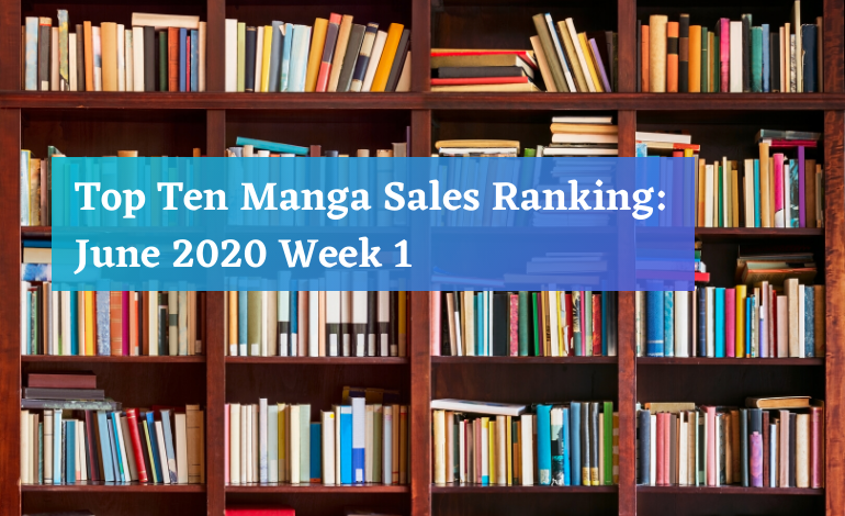 Manga Sales Ranking June