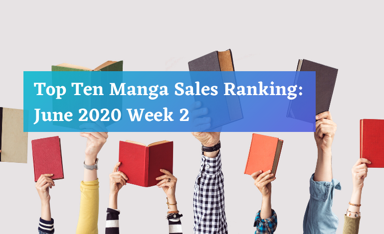 Photo of Top Ten Manga Sales Ranking: June 2020 Week 2