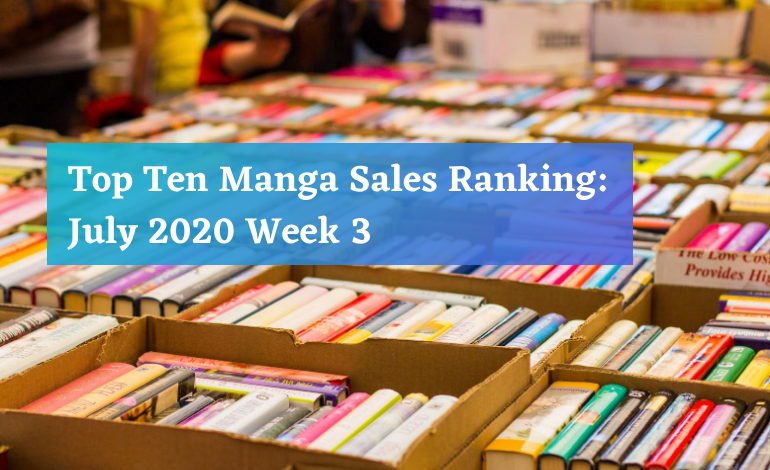 Photo of Top Ten Manga Sales Ranking: July 2020 Week 3