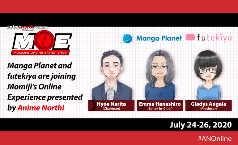Photo of Manga Planet will be at Anime North presents Momiji's Online Experience