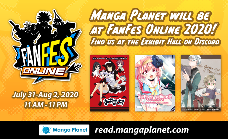 Photo of Manga Planet will be at FanFes Online 2020!
