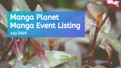 Photo of Manga Events July 2020: Manga Planet Listing