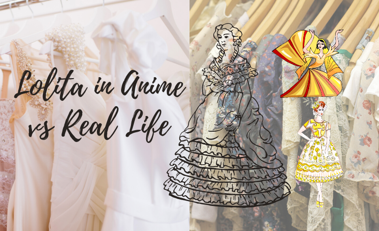 Photo of Lolita Fashion in Anime vs. Real Life