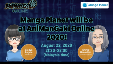 Photo of Manga Planet will be at AniManGaki Online 2020!