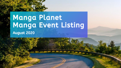 Photo of Manga Events August 2020: Manga Planet Listing