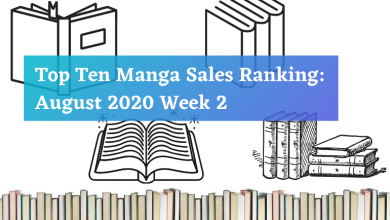 Photo of Top Ten Manga Sales Ranking: August 2020 Week 2