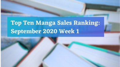 Manga Sales September