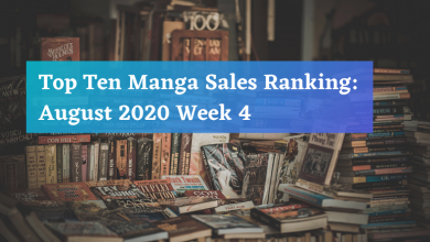 Photo of Top Ten Manga Sales Ranking: August 2020 Week 4