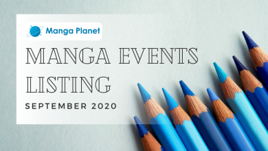 Photo of Manga Events September 2020: Manga Planet Listing