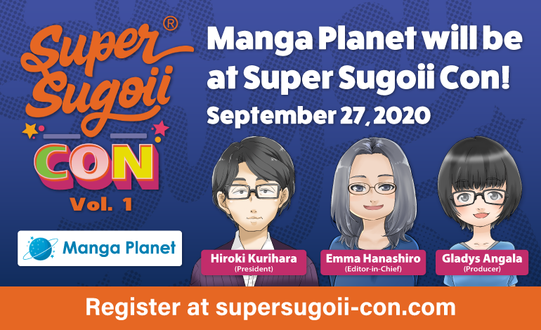 Photo of Manga Planet will be at Super Sugoii Con!