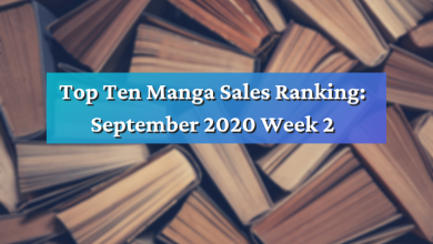 Photo of Top Ten Manga Sales Ranking: September 2020 Week 2