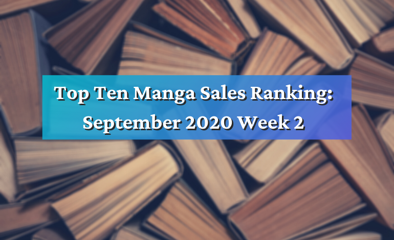 Top Ten Manga September