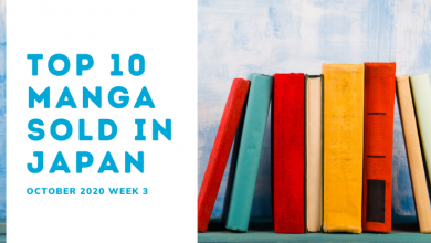Photo of Top Ten Manga Sales Ranking: October 2020 Week 3