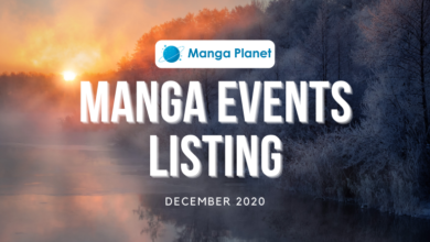 Photo of Manga Events December 2020: Manga Planet Listing