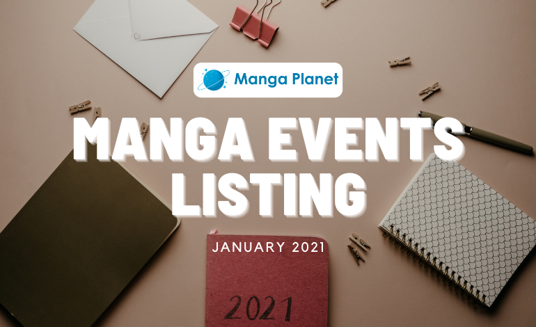 Manga Events January 2021