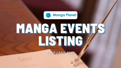 Manga Events February 2021