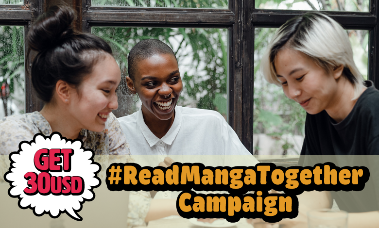 Photo of #ReadMangaTogether Campaign