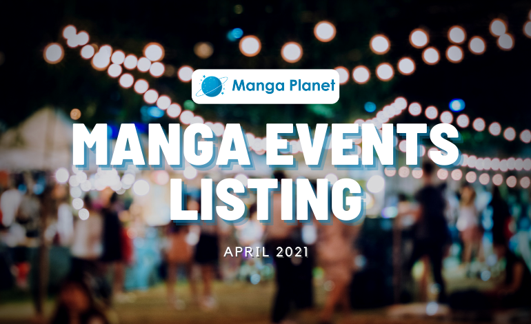 Manga Events April 2021