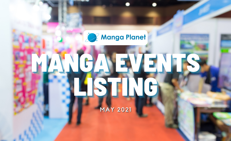 Manga Events May 2021